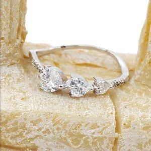 Ocean Fashion Jewelry - Fashion wave crystal ring